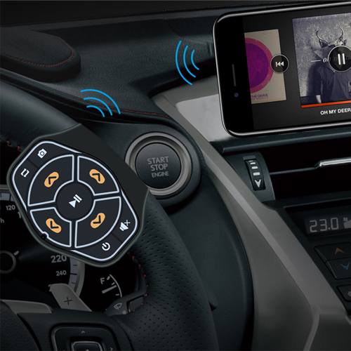 steering wheel bluetooth car kit-2